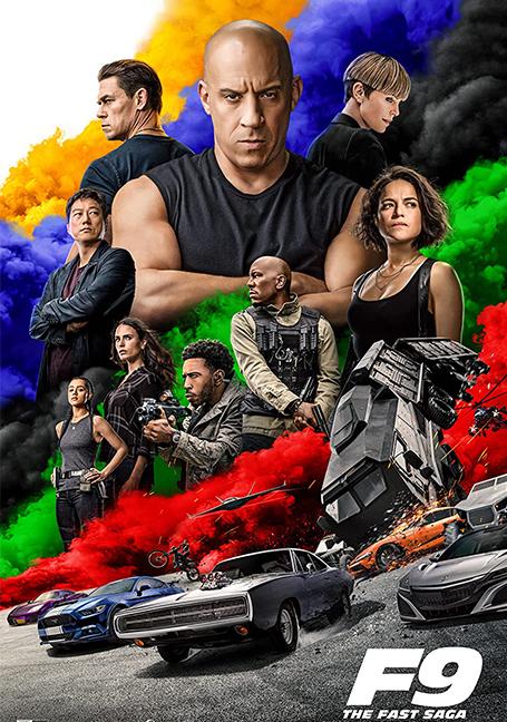 Fast and Furious 9 : The Fast Saga (2021)  เร็วแรงทะลุนรก ภาค 9